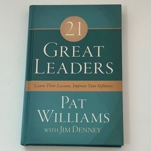Book: 21 Great Leaders